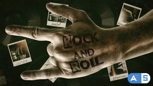 Videohive Rock'n'Roll 21953728