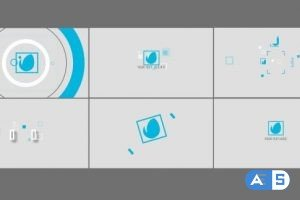 Videohive Flat Logo Intro Pack 19625661
