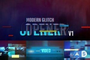 Videohive Glitch Opener V1 19656451