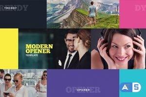 Videohive Modern Opener 19220707