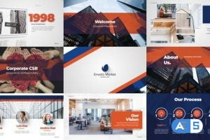 Videohive Elegant Blue Corporate 26818787