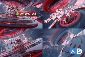 Videohive News Intro 23551129