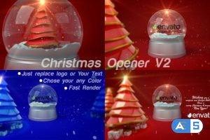 Videohive Christmas Opener_V2 23008291