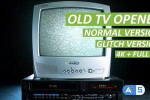 Videohive Old TV Opener 11941197