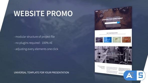 Videohive Website Presentation 21215895