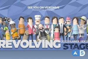 Videohive 3D Explainer Video Kit: Revolving Stager 26414078