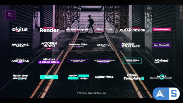 Videohive Digital Glitch Titles For Premiere Pro 25139414
