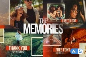 Videohive The Memories – Cinematic Slideshow 26477737