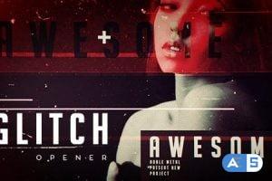 Videohive Grunge Glitch Opener 15850190