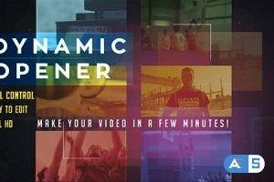Videohive Dynamic Glitch Opener 15618713