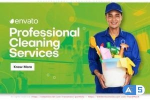 Videohive Professional Cleaning Services Promo 27803568