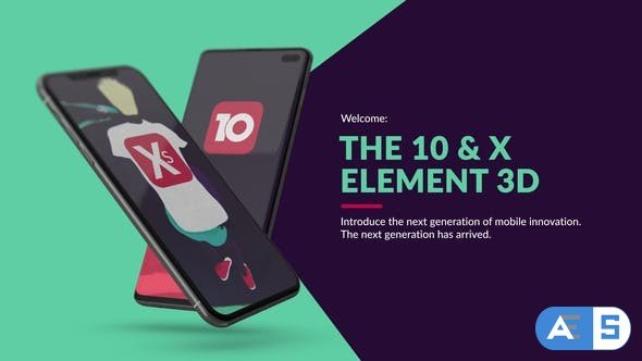 Videohive The 10 & X for Element 3D 23718553