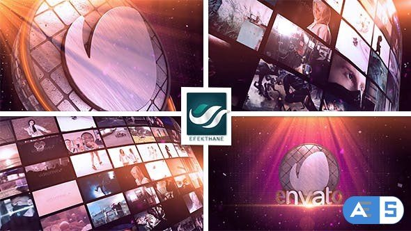 Videohive Video Wall Logo 13787115