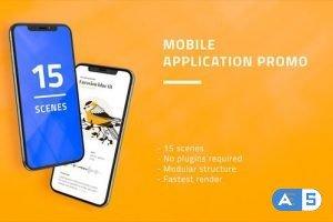 Videohive Mobile Application Promo 27474761