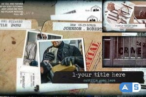 Videohive Crime Case 27644992