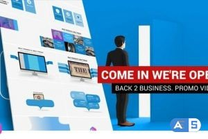 Videohive Promotional video   We are open 27000790