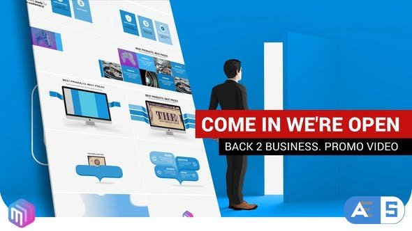 Videohive Promotional video | We are open 27000790