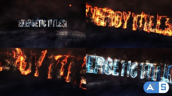 Videohive Energy Titles 27538616