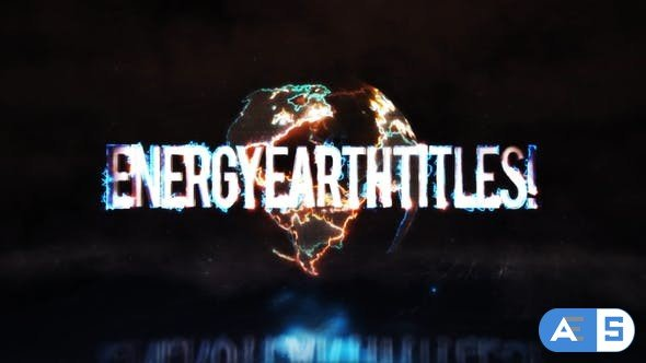 Videohive  Energy Earth Titles 27562979