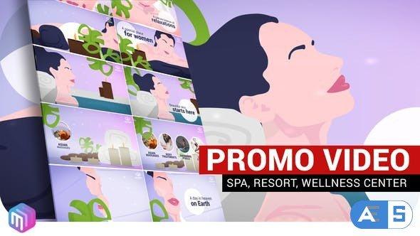 Videohive SPA, Resort, Wellness center | Promo video 27269755