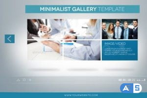 Videohive Clean Minimal Gallery Promotion 4290211