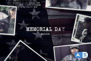 Videohive Memorial Day History Timeline Slideshow 26719214