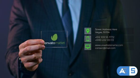 Videohive Business Card 27337670
