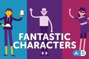 Videohive Fantastic Characters – for explainer animations 24659186