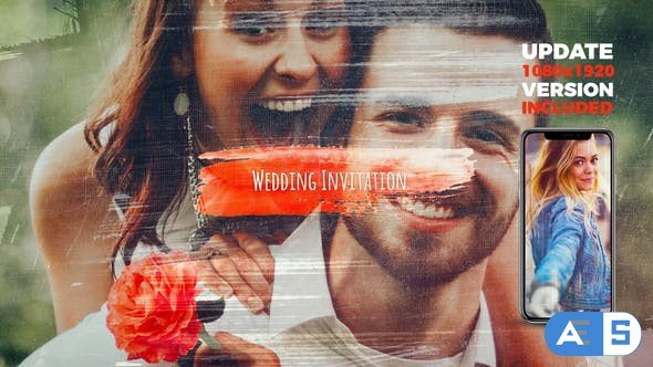 Videohive Wedding Invitation 22465302