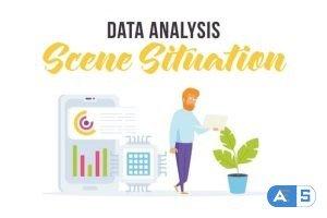 Videohive Data analysis – Scene Situation 28256118