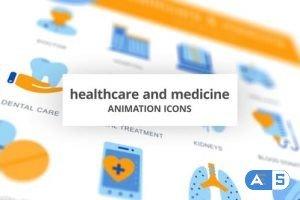 Videohive Healthcare & Medicine – Animation Icons 28168254