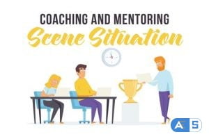 Videohive Coaching and mentoring – Scene Situation 28256195