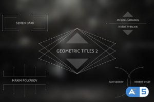 Videohive Geometric Titles 2 15454984