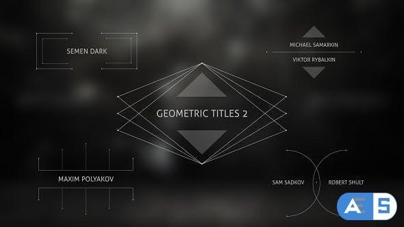 Videohive Geometric Titles 2 15454984
