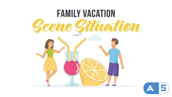 Videohive Family vacation – Scene Situation 28255743