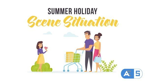 Videohive Summer holiday – Scene Situation 28255983