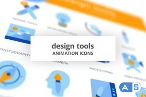 Videohive Design Tools – Animation Icons 28168089