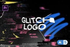 Videohive Glitch Distortion Logo Intro 28061965
