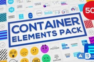 Videohive Container – Elements Pack 26607592
