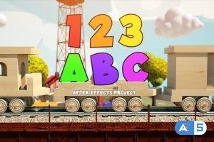 Videohive Children's Train 27774044