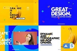 Videohive Dynamic And Typographic Hip-Hop Opener 27751222