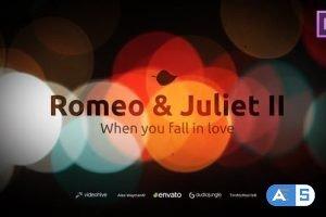 Videohive Romantic Titles – Romeo & Juliet 22600102