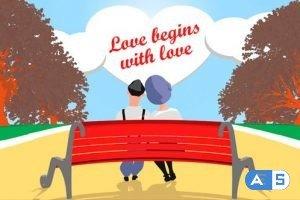 Videohive Romantic Love Opener 10037829