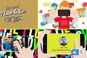 Videohive I Love Selfie 13917922