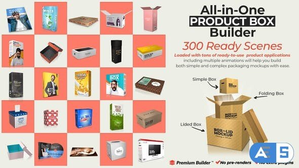 Videohive All-in-One Product Box Builder 25901445