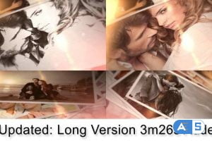 Videohive Brushed Memories 7271764