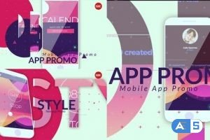 Videohive Modern Style App Promo 23604097