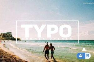Videohive Typo Summer Opener 24037534