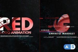Videohive Red Logo Intro 23649210