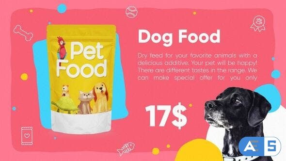 Videohive Pet Products Promo 27926729